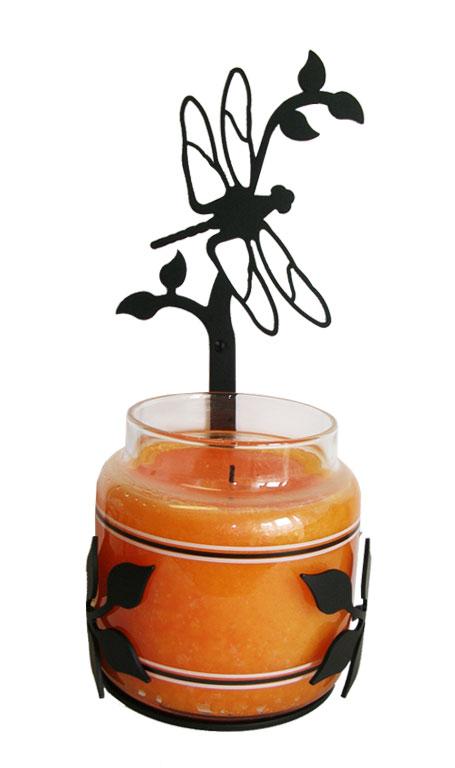 Dragonfly - Large Jar Sconce