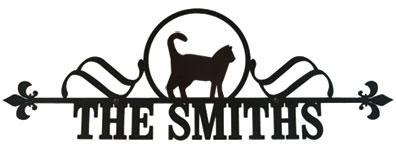 Cat - Customized House Plaque