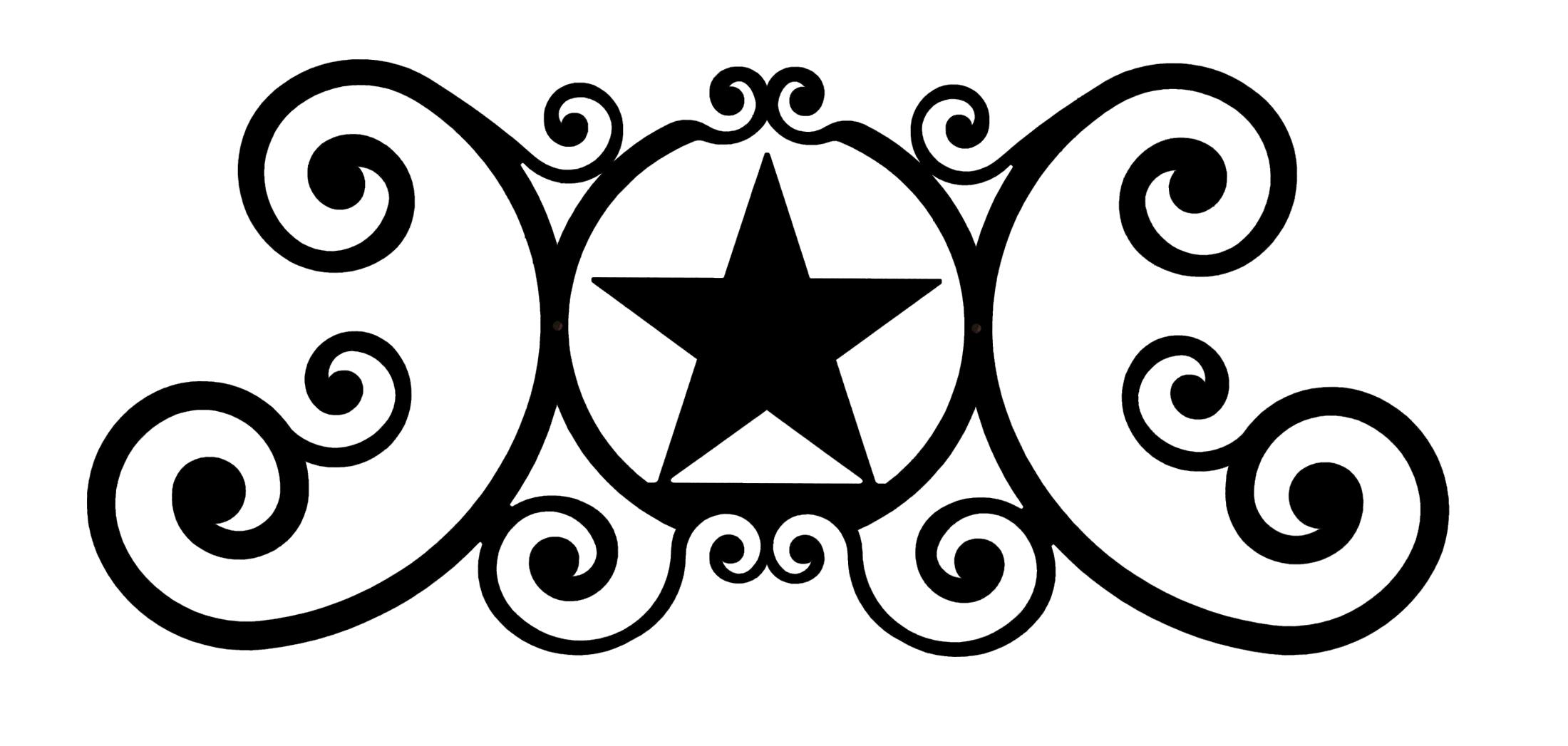 Star - Over Door Plaque
