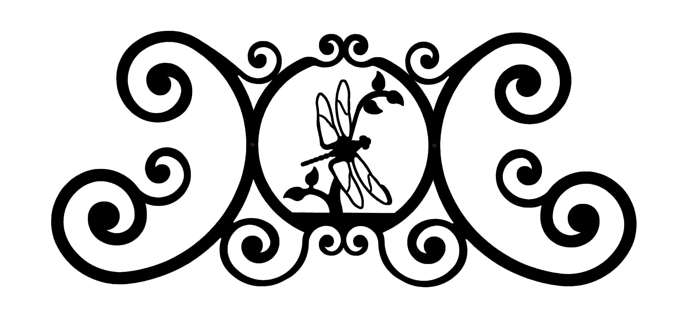 Dragonfly - Over Door Plaque