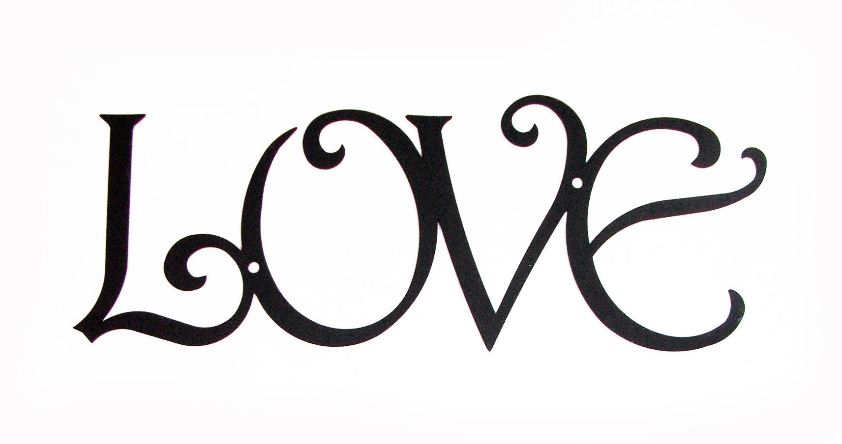 Wall Art - LOVE