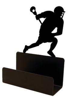 NO LONGER AVAILABLE - Lacross Player - Business Card Holder