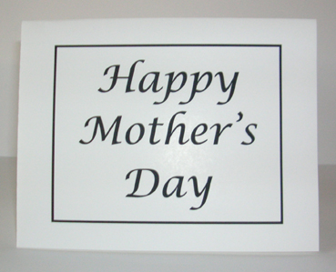 Happy Mother's Day with Envelope
