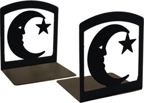Moon & Star - Book Ends