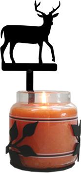 Deer - Large Jar Sconce