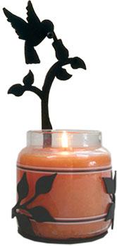 Hummingbird - Large Jar Sconce