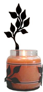 Leaf - Large Jar Sconce