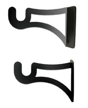 Curtain Brackets for 1/2 Inch Rods