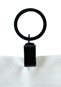 Curtain Rings Clip On Style