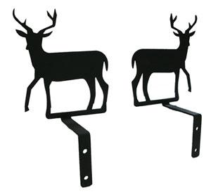 Deer - Curtain Swags