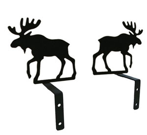 Moose - Curtain Swags