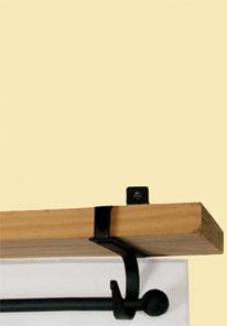 Plain - Curtain Shelf Brackets
