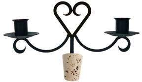 Heart - Wine Bottle Topper