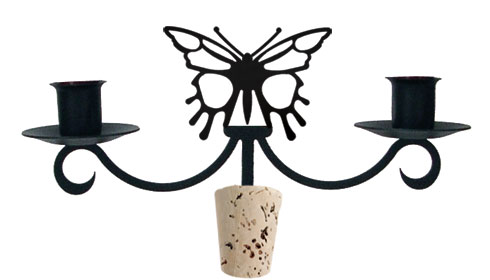 Butterfly - Wine Bottle Topper