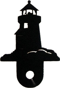Lighthouse - Cabinet Door Silhouette