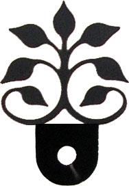 Leaf Fan - Cabinet Door Silhouette