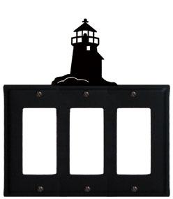 Lighthouse - Triple GFI Cover
