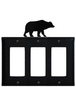 Bear - Triple GFI Cover
