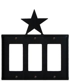 Star - Triple GFI Cover