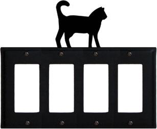 Cat - Quad. GFI Cover
