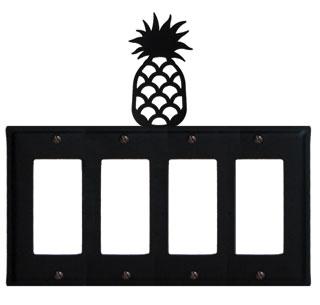 Pineapple - Quad. GFI Cover