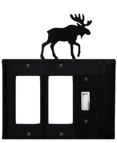 Moose - Double GFI and Single Switch Cover
