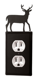 Dee r- Single Outlet Cover