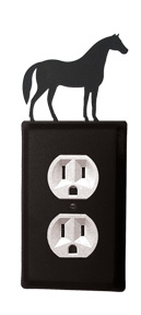 Horse - Single Outlet Cover