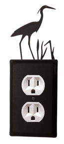 Heron - Single Outlet Cover