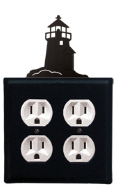 Lighthouse - Double Outlet Cover
