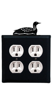 Loon - Double Outlet Cover
