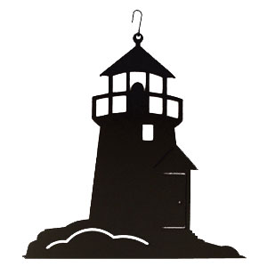 Lighthouse - Decorative Hanging Silhouette