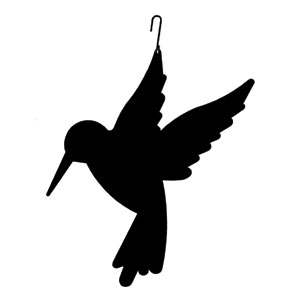 Hummingbird - Decorative Hanging Silhouette
