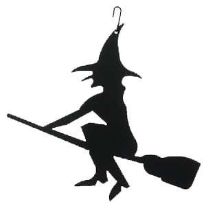 Witch - Decorative Hanging Silhouette